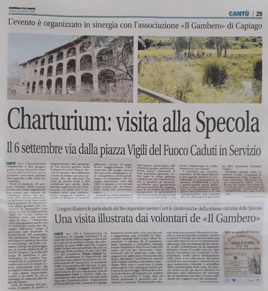 La visita alla Specola con Charturium