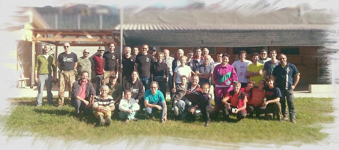 Gruppo Gambero con amici di altre associazioni del territorio