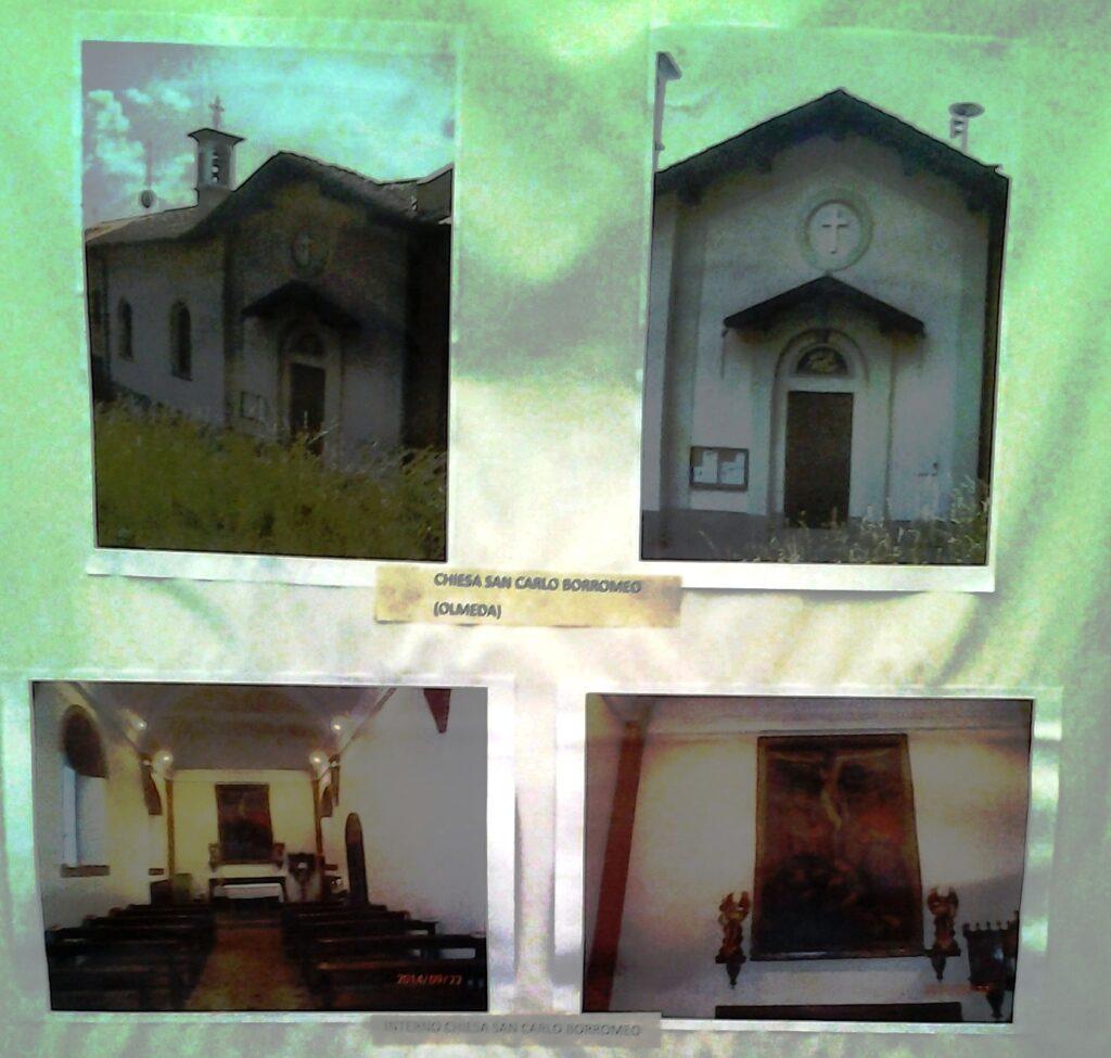 Interno Chiesa San Carlo Borromeo Capiago