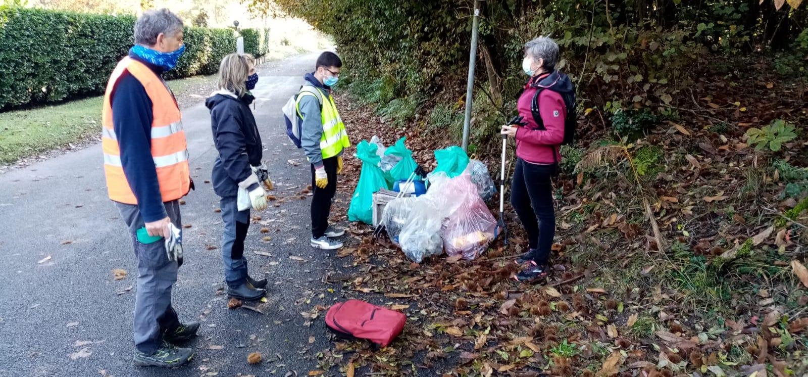 raccolta rifiuti mandane capiago intimiano 25 ottobre 2020